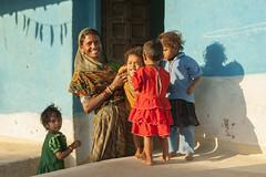 Gond family (wietsej) Tags: gond family kawardha chhattisgarh india sony a100 tamronspaf1750mmf28xrdiiildaspif 1750 rural tribal village sonydslra100