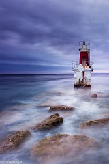 Twisted and blue days (IrreBerenT) Tags: sea longexposure elfarolillo faro lighthouse blue landscape sescape irreberentenataliaaguado cantabria sanvicentedelabarquera