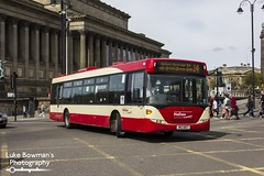 Halton Transport MIG 8167 (Luke Bowman's Photography) Tags: halton transport mig 8167 mig8167 scania omnicity liverpool lime street