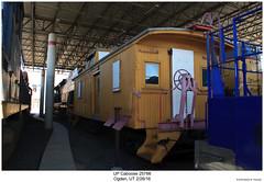 UP Caboose 25766 (Robert W. Thomson) Tags: up unionpacific caboose cab cabcar cabincar hack train trains traincar railcar rollingstock railroad railway ogden utah