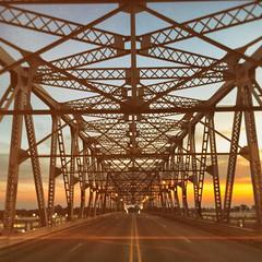 She Reminded Me of You (Thomas Hawk) Tags: america longallenbridge long–allenbridge louisiana shreveport usa unitedstates unitedstatesofamerica bridge bossiercity us fav10 fav25 fav50 fav100