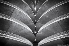 parkeergarage amsterdam rai 02 (renate-oskam) Tags: symmetric symmetry blackandwhite architecture architectuur perspective building monochrome amsterdamrai parkeergarage parking