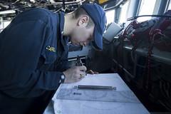 170418-N-BY095-0020 (U.S. Pacific Fleet) Tags: ussshoup ddg86 comptuex nimitzcarrierstrikegroup sailors navy ddg underway pacificocean