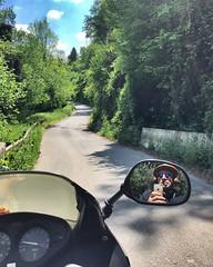 Campagna (ioriogiovanni10) Tags: iphone sentiero montagna bmw kawasaki ducati suzuki arai agv rayban persol honda parco strada moto guidare