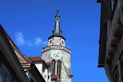 Belebte Spitze (tonino-11) Tags: tübingen stiftskirche turm altstadt