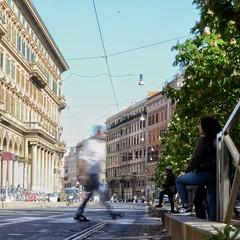 Fast life (Paolo Roberto Longo) Tags: longexp streetphotography streetphoto 35mm