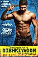 Harman Baweja shirtless on the movie poster of DISHKIYAOON (SHIRTLESS PEOPLE) Tags: shirtless people hunks hot guys men homme maenner homens hombre