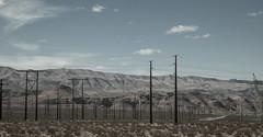 Telephone Poles of the Mojave (Jack Landau) Tags: desert telephone nevada mojave poles