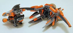 GS-C13 (PlasticPatriot) Tags: lego space galaxy spaceship squad moc starfighter