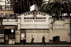 liberated (bex scerri) Tags: street shop walking book random candid sunny australia melbourne everyday aussie bookshop liberated liberate