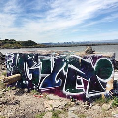 GYER (DOGLOST) Tags: graffiti oakland bayarea spraypaint aerosolart dfm oaklandgraffiti gyer
