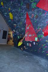 BOL_8179 (WK photography) Tags: chalk guelph climbing bouldering grotto rockclimbing chalkbag rockshoes bouldernight guelphgrotto