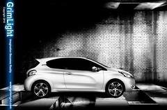 Peugeot 208 gti - Shadows (Digital Dennis) Tags: lighting one setup gti strobe 208 digitaldennis grimlight carspeugeot peugeot208gtipeugeot 208peugeot gti208