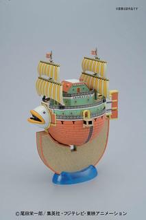 海賊王 海上餐廳巴拉蒂 組裝模型