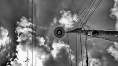 Under a Texas Sky ~ Explore #306, April 23, 2014 (Neilheeney) Tags: sky blackandwhite bw clouds fuji explore 1855 fujinon explored xe2