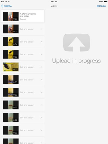 YouTube capture upload queued by Wesley Fryer, on Flickr