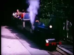 Seaside Miniature Railways in the 1960s (N nine) Tags: christchurch holiday film train miniature seaside ride engine railway cine 1966 steam isleofwight locomotive 1960s sixties 1964 southsea 1965 sandown littlehampton poolepark sandhamcastle