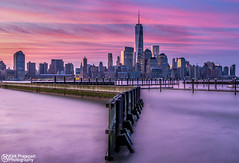 N A T U R E C O L O R S (kirit prajapati photography) Tags: nyc sky ny newyork apple water night sunrise newjersey manhattan worldtradecenter nj wtc bigapple nycity manhattanny weneverforget nikon2470mm28 bestskyline nikond800e bestskylineinworld
