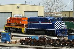 AL & TN River Rwy's New Image (Jeff Carlson_82) Tags: railroad river mac paint tennessee alabama railway mo kansascity missouri kc railfan atn emd 9401 gmd shortline gp402 omnitrax midamericacar gp402l