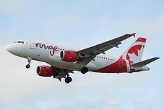 Air Canada Rouge Airbus A319-114 C-FYJH (CharlieOscar98) Tags: canada rouge airport air airbus yvr a319