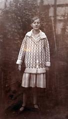 00108 (Frollein Eichblatt) Tags: old 1920s portrait woman female vintage antique 20s twenties