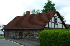 Nieder-Ohmen Backhaus (blasjaz) Tags: germany backhaus hesse fachwerk niederohmen communalbakehouse blasjaz mckeniederohmen