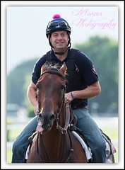 Tom Morley (EASY GOER) Tags: park horses horse ny sports racetrack race canon track belmont competition racing 7d athletes sporting thoroughbred equine thoroughbreds