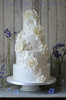 Classic, Elegant white wedding cake (Ben The Cake Man) Tags: man beautiful cake vintage birmingham ben westmidlands bespoke whitewedding