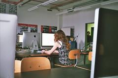 computer room (Yiqian_Fan) Tags: architecture rollei 35mm mac th ohm nrnberg tessar  rollei35t rossmann400