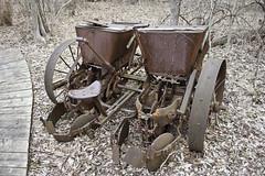 1800's Farm Equipment (awaketoadream) Tags: park ontario canada metal canon point eos spring rust farm equipment national rusted april homestead pelee essex 2014 delaurier 60d