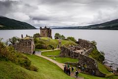 Urquhart Castle #2 (agllorca) Tags: castle clouds landscape scotland highlands loch inverness ness urquhart