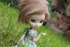 Lyra (pullip FC by me) (Mélotika) Tags: me by fur makeup wig lyra pullip fc suigintou