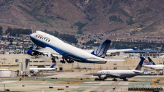 United Airlines - N120UA (InSapphoWeTrust) Tags: sanfrancisco california usa unitedstates sfo united unitedstatesofamerica bayarea northamerica ual boeing747 747 ua unitedairlines sanfranciscointernationalairport 744 boeing747400 ksfo n120ua lesbianfriendlyskies