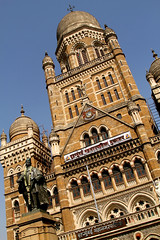 Mumbai  City Hall (cowyeow) Tags: street city travel india building architecture design cityhall indian central bombay government mumbai