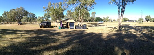 Fitzroy River Crossing camp
