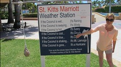 """Julie Martin la star de """"The Weather Channel"""" se forme aux techniques de prvisions mtorologiques sur l'le de St.Kitts / Julie Martin star of """"The Weather Channel"""" came to St.Kitts to learn about the latest forecast Kittitian Techniques! (I Love St.Kitts & Nevis) Tags: camera atlanta sea usa cloud chicago hot cold west sexy beach wet field rain weather saint television female night marriott de island vent star volcano vacances soleil tv high cool holidays day julie martin tech wind coconut femme hurricane royal pluie ile sunny coco belle caribbean jolie veteran nuages temps vacations froid channel unis stkitts chaine meteo techniques meteorologist antilles nevis severe volcan indies noix kitts caraibes correspondent forecasting prevision etats ouragan tropique liamuiga meteorologiste"""
