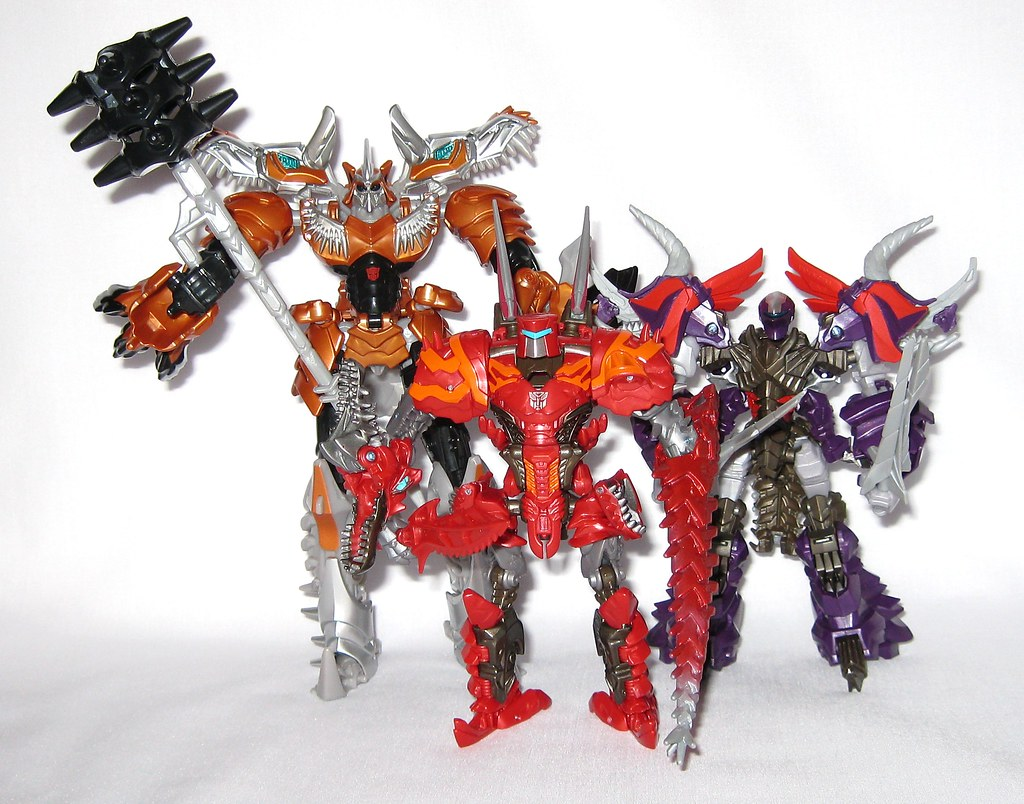 The world 39 s best photos of dinobot and scorn flickr hive - Dinosaure transformers ...