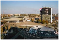 Katowice (Spartaxus) Tags: analog katowice rondo spodek silesia rossman