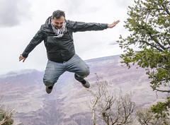 Jumping in Grand Canyon [explored]