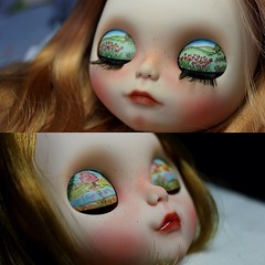 Ambar and Kraviz!  Two new girls, one custom commision for Teresa and one for adoption.  The eyelids are painted by my sister ❤❤❤❤
