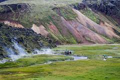 Natural hot springs (Roberto Valt) Tags: panorama mountain canon landscape landscapes iceland scenario paesaggi montagna paesaggio islanda canon7d