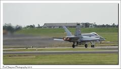 Swiss F18 at RAF Waddington, Lincolnshire (Paul Simpson Photography) Tags: airplane switzerland fighter swiss aircraft jet aeroplane f18 afterburner afterburners imagesof sonya77 paulsimpsonphotography rafwaddingtonairshow2014