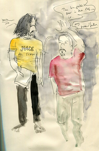 """The Shroud - rehearsal sketch • <a style=""""font-size:0.8em;"""" href=""""http://www.flickr.com/photos/28034404@N02/14421842756/"""" target=""""_blank"""">View on Flickr</a>"""