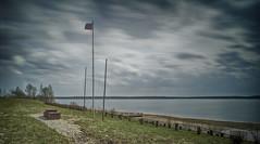 CF001960-1 (VadimBL) Tags: longexposure sky clouds mediumformat wind russia flag tricolor volga pedestal 32mm uglich alpa rodenstock phaseone digitalback leefilters bigstopper 12stc