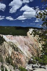 Yellowstone (JFDI Overland) Tags: park usa cloud mountain waterfall canyon national jfdi yellowstone wyoming overland