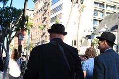 Se preparan para ir a trabajar (Carlos Caicedo) Tags: california usa la losangeles hollywood elgordoyelflaco