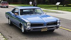 1966 Pontiac LeMans (hz536n/George Thomas) Tags: summer copyright june canon michigan orphan canon5d pontiac flint lemans 2014 ef1740mmf4lusm cs5 sloanmuseum sloanmuseumautofair sloan2014