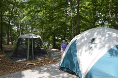 camping tent campground campsite