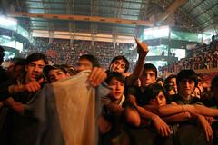 2008-08-30 - La Moto - Estadio Ruca Che - Foto de Oscar Livera