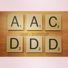 """[Promotion*] ขยายขนาดของตัวอักษร Scrabble ให้ดูเก๋ ดูเท่ห์ไม่ซ้ำใคร จะตั้งโดดๆ แทนชื่อเล่น  หรือวางเป็นคู่ คู่กับแฟนก็น่ารัก ❤️  มีเหลือแค่ 22 ตัว หมดแล้วหมดเลย ไม่มีอีกแล้วจ้า   กว้าง : 13.5cm สูง : 13.5cm หนา : 3.5cm (ตั้งได้เลยไม่ต้องใช้ตัวยึดครับ)  """"ส"""